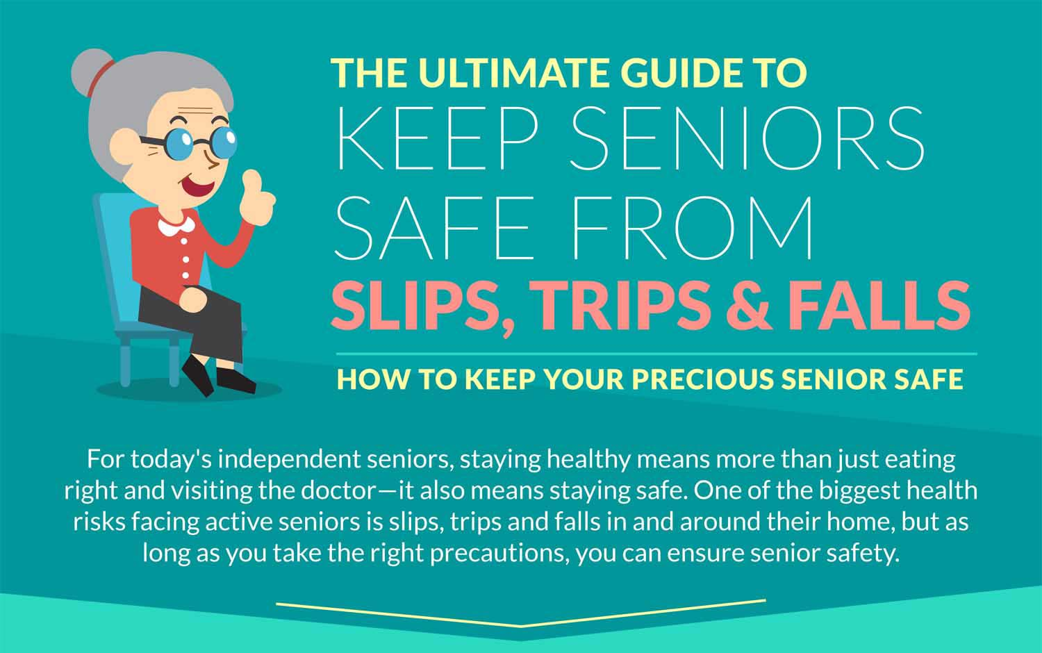 Keep Seniors Safe From Slips, Trips & Falls