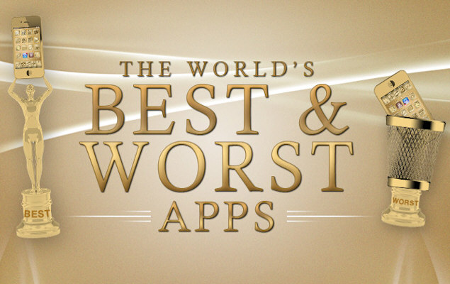The World's Best & Worst Apps