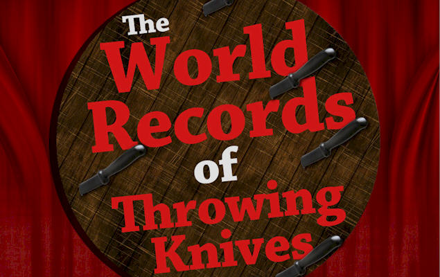 The World Records of Throwing Knives