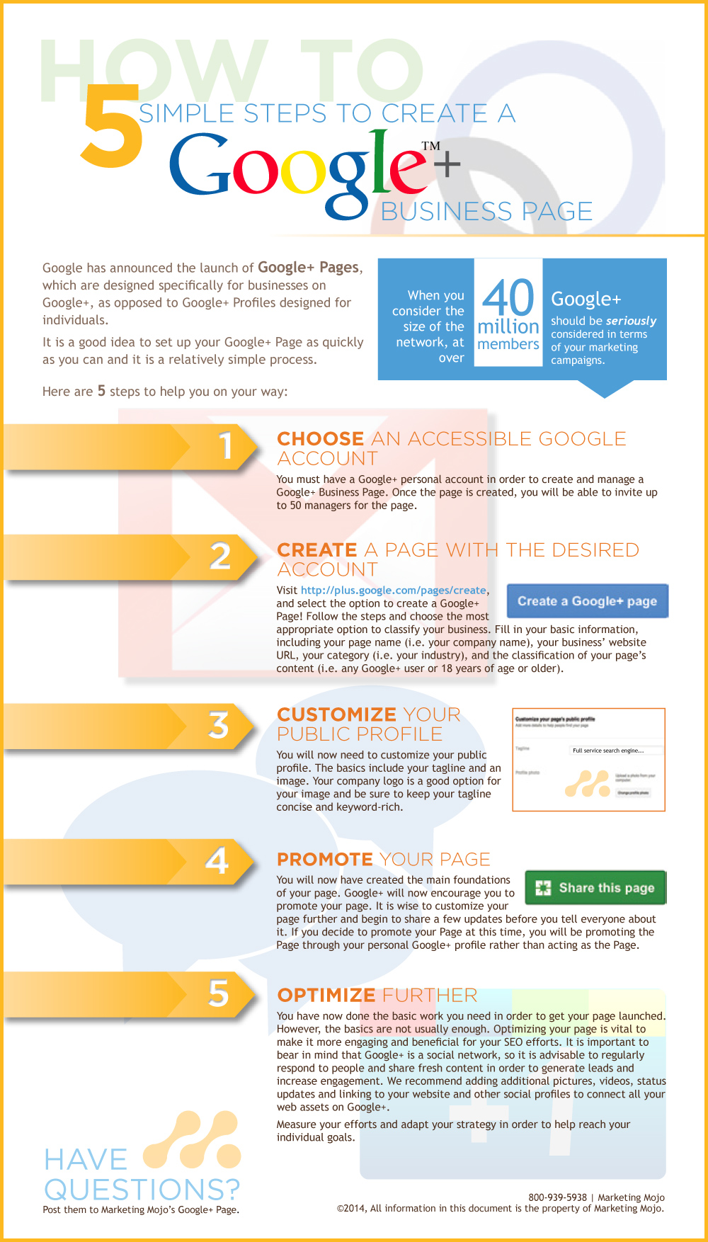 5 Simple Steps to Create a Google+ Business Page
