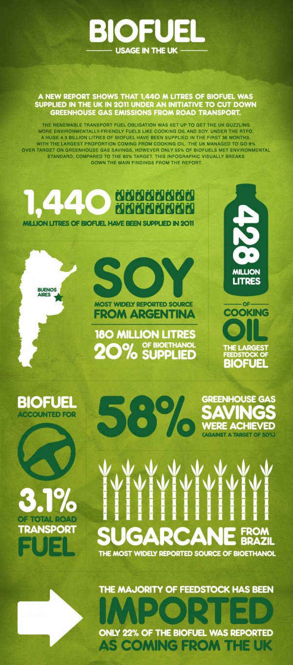 Biofuel Usage in the UK