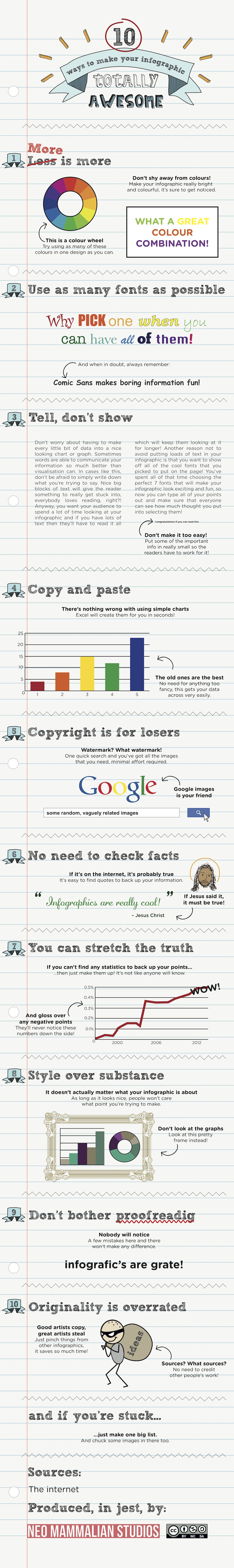 10 Ways to Make Your Infographic Totally NOT Awesome