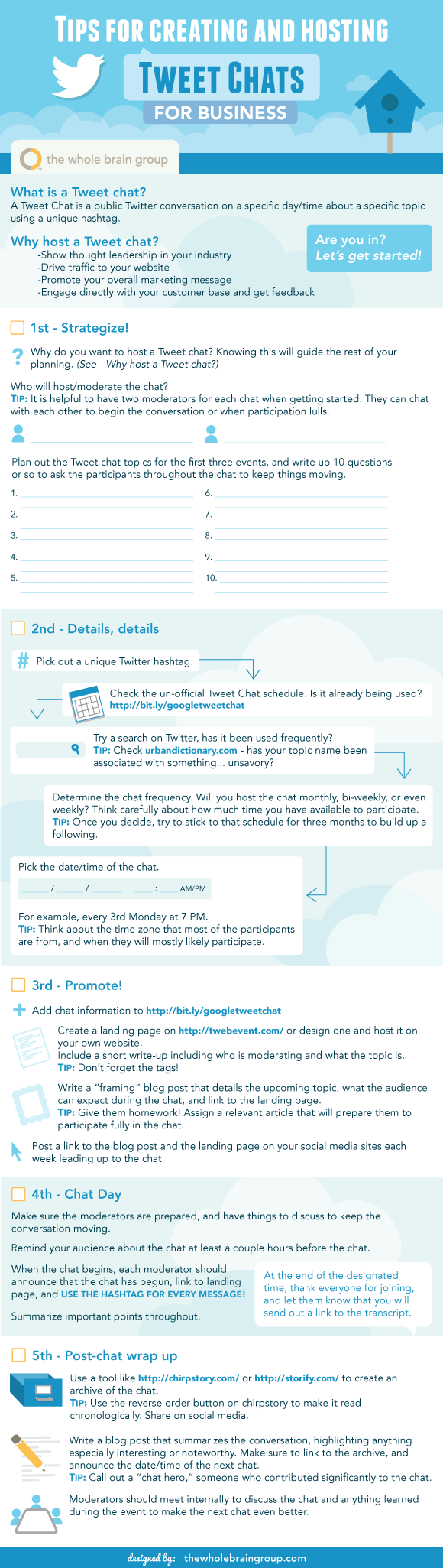 Sensible Tweet Chat Checklist for Businesses