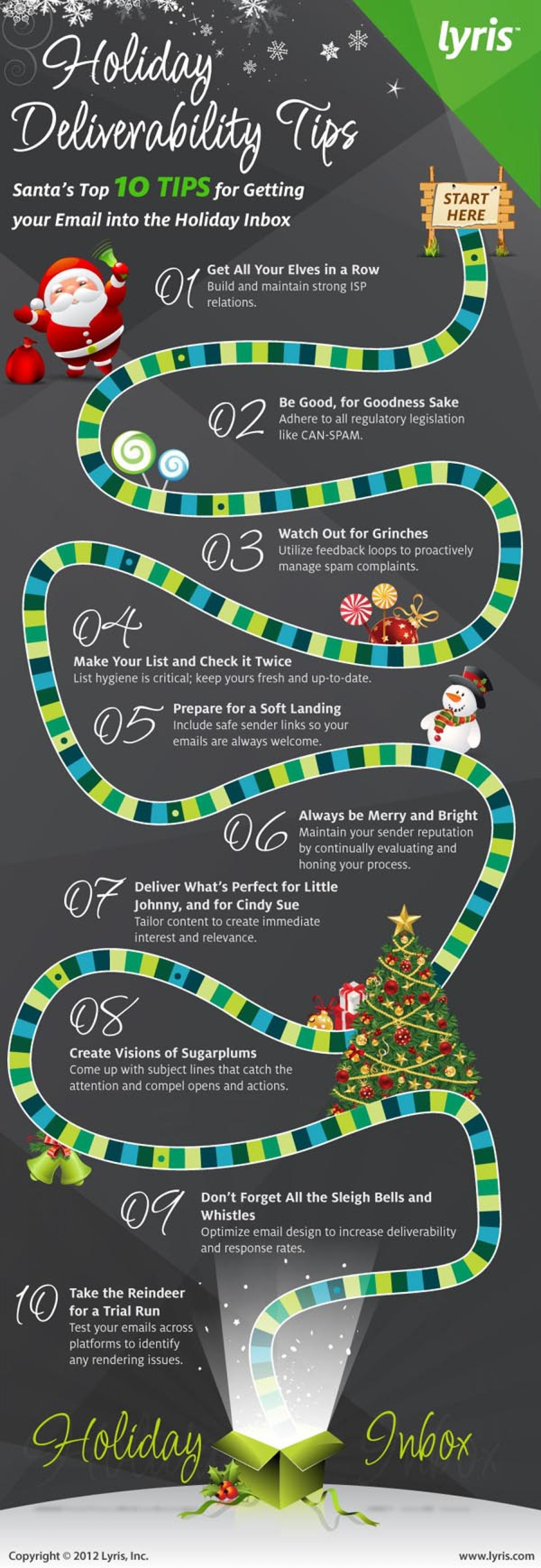 10 Holiday Email Deliverability Tips