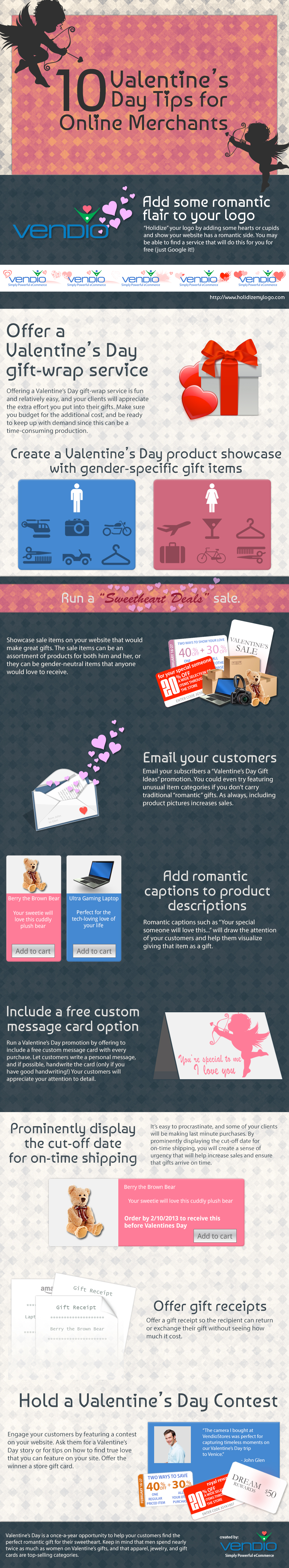 10 Valentine's Day Tips for Ecommerce SMB Merchants
