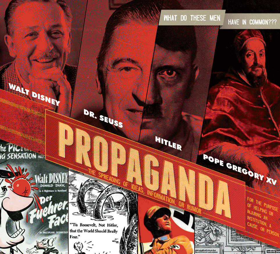 Propaganda: What Do These Men Have In Common?