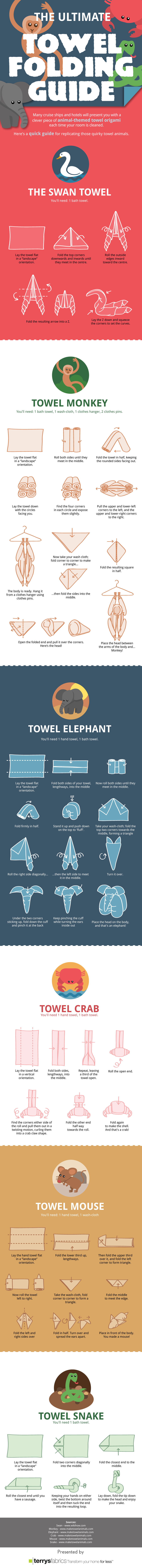 The Ultimate Towel Folding Guide