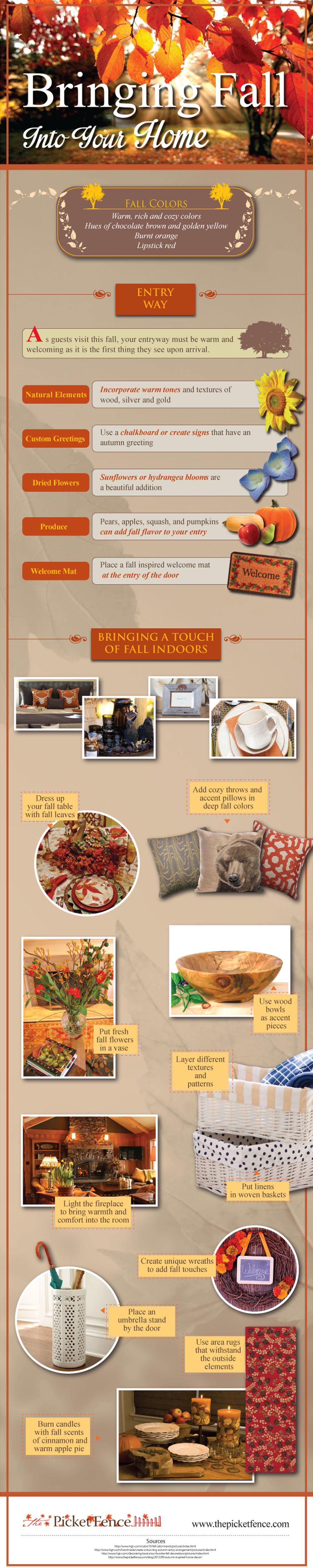 Bringing Fall Into Your Home