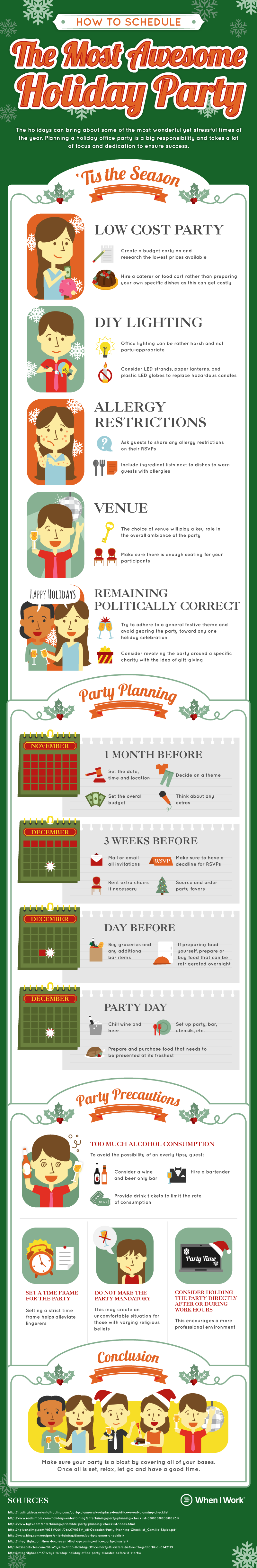 How To Schedule an Awesome Holiday Party