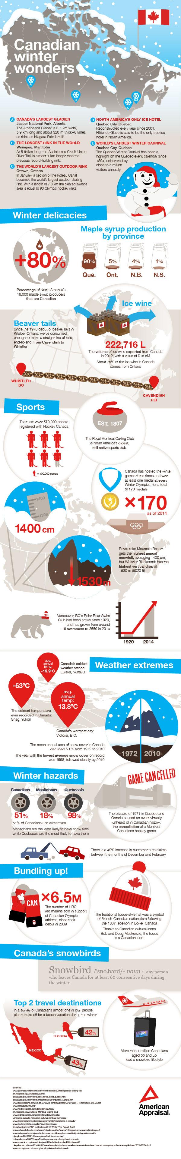 Canadian Winter Wonders
