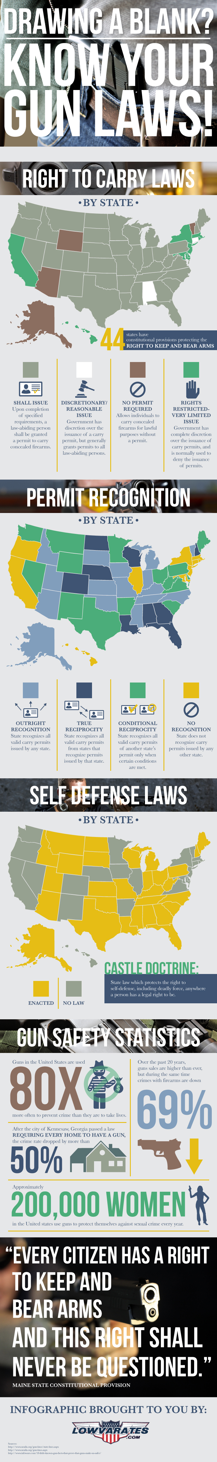 Drawing a Blank? Know Your Gun Laws!
