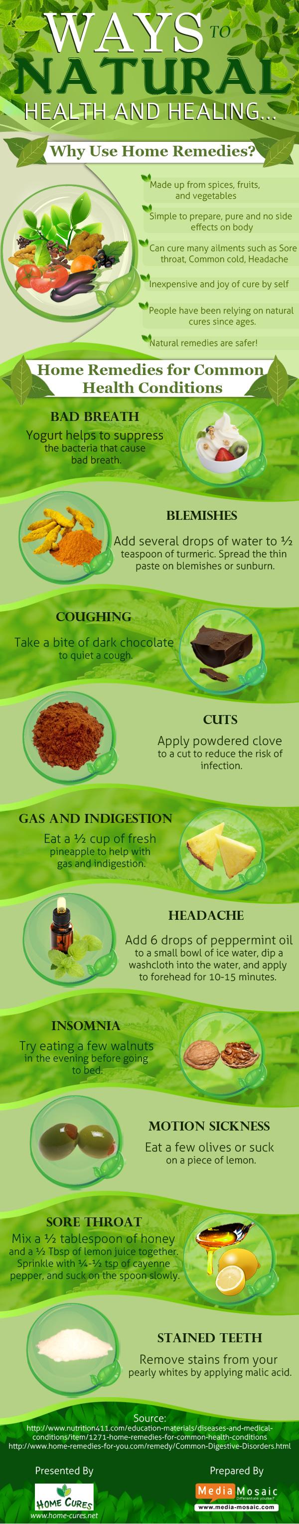 Ways To Natural Health and Healing