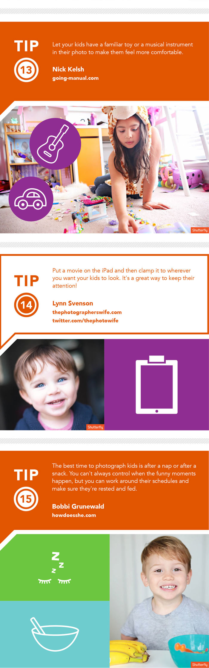 The Shutterfly Guide to Taking Photos of Wiggly Kids