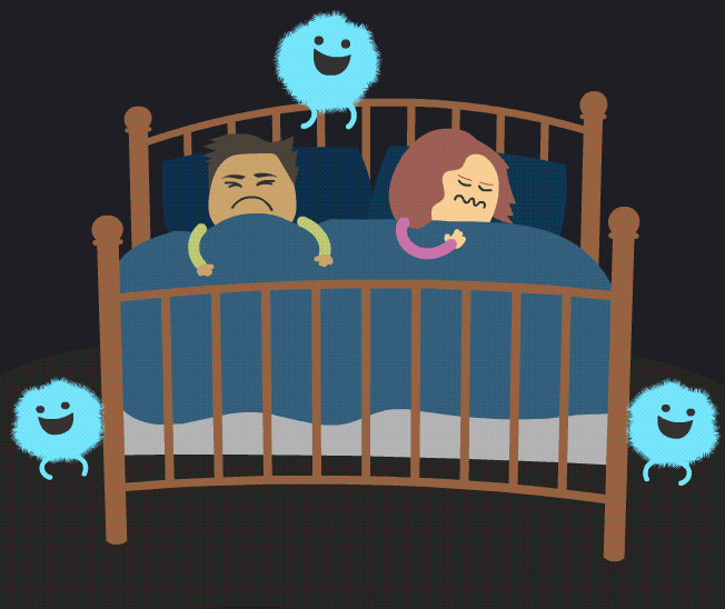 The 7 Deadly Sleep Depriving Monsters