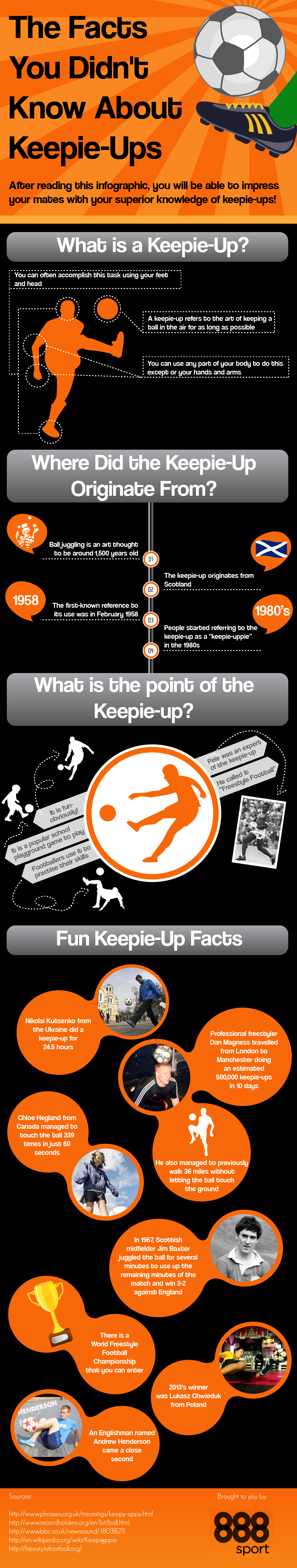 The Facts You Didn't Know About Keepy-Ups