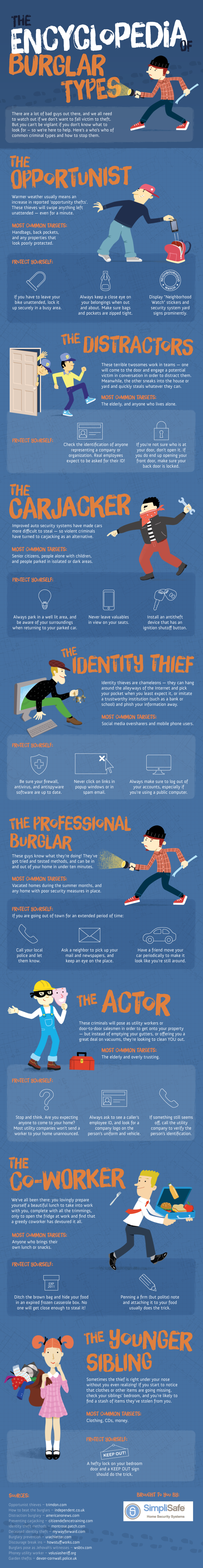 Burglars: The Encyclopedia of Burglar Types