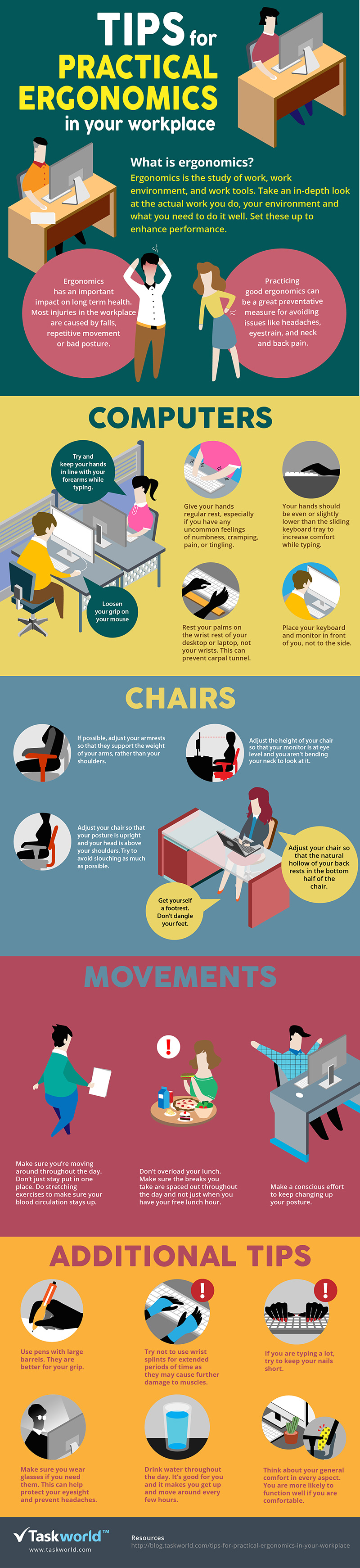 Tips for Practical Ergonomics In Your Workplace