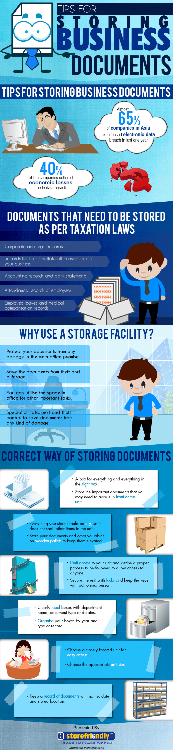 Tips For Storing Business Documents