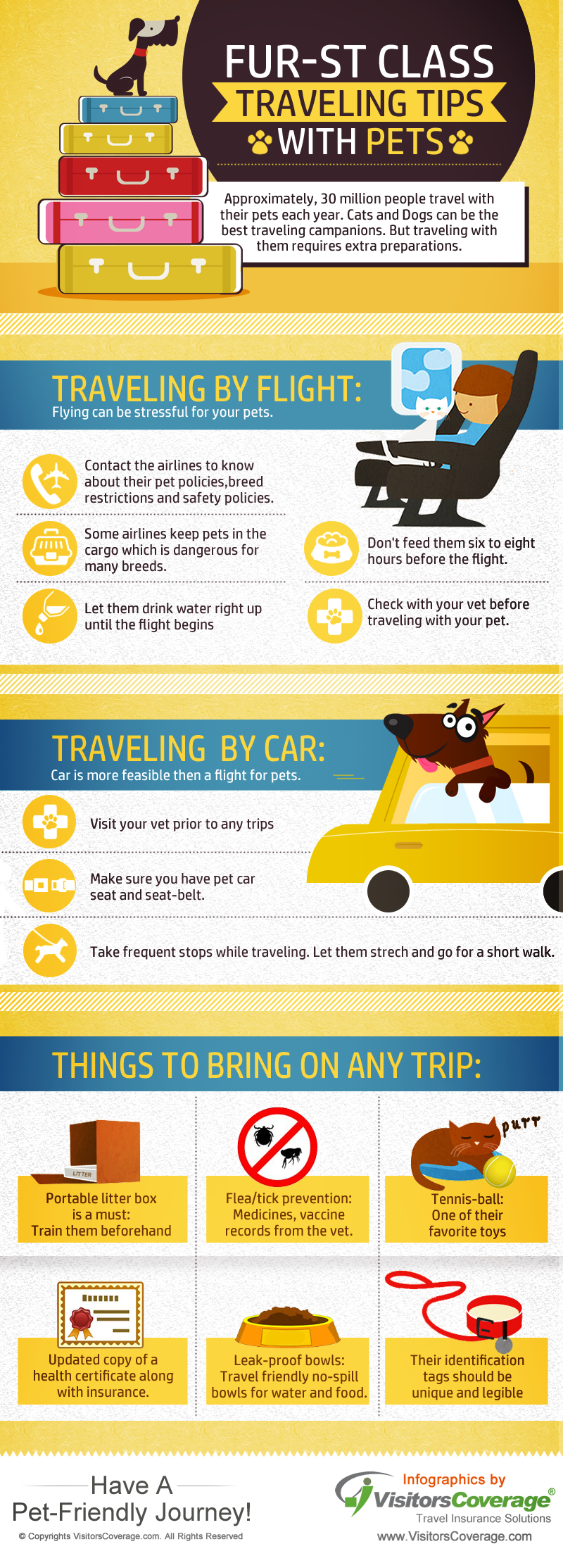 Traveling Tips With Pets