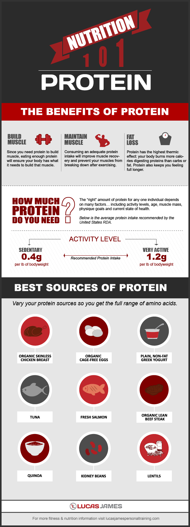Nutrition 101: The Benefits of Protein