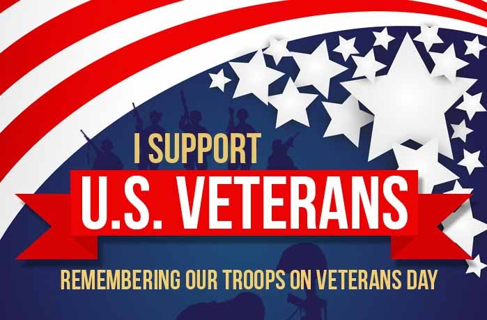 Remembering Our Troops on Veterans Day