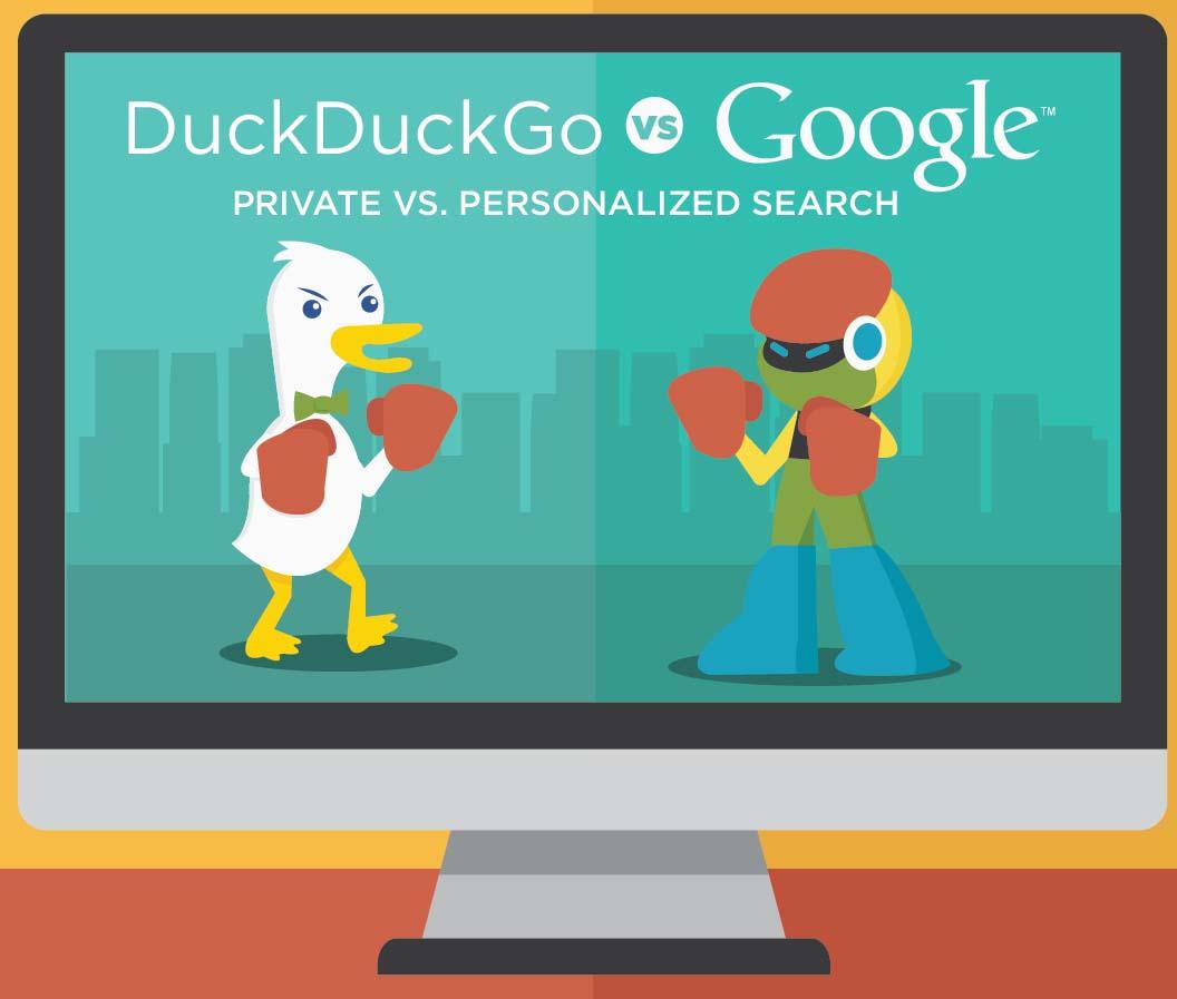 Private vs Personalized Search: Duck Duck Go vs Google