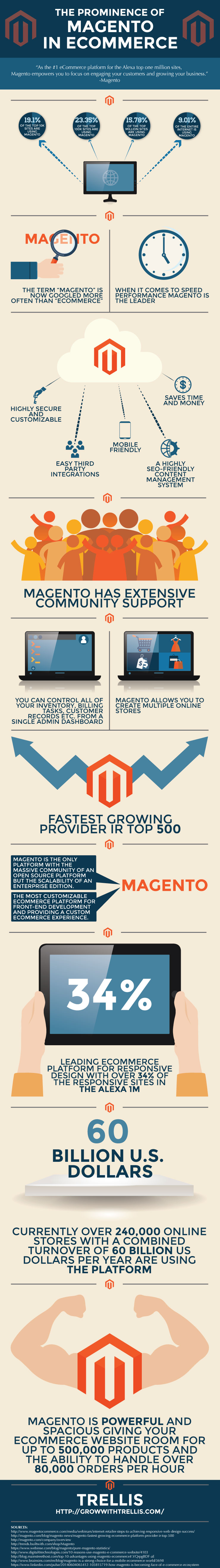 The Prominence of Magento in eCommerce