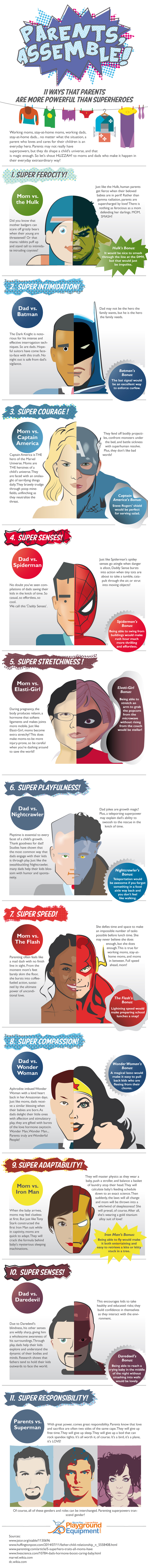 11 Ways That Parents Are More Powerful Than Superheroes