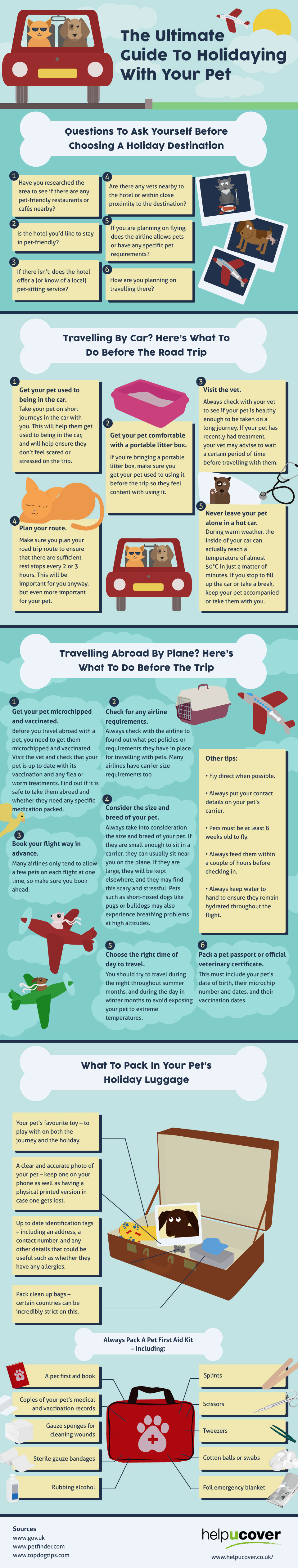 The Ultimate Guide To Holidaying With Your Pet
