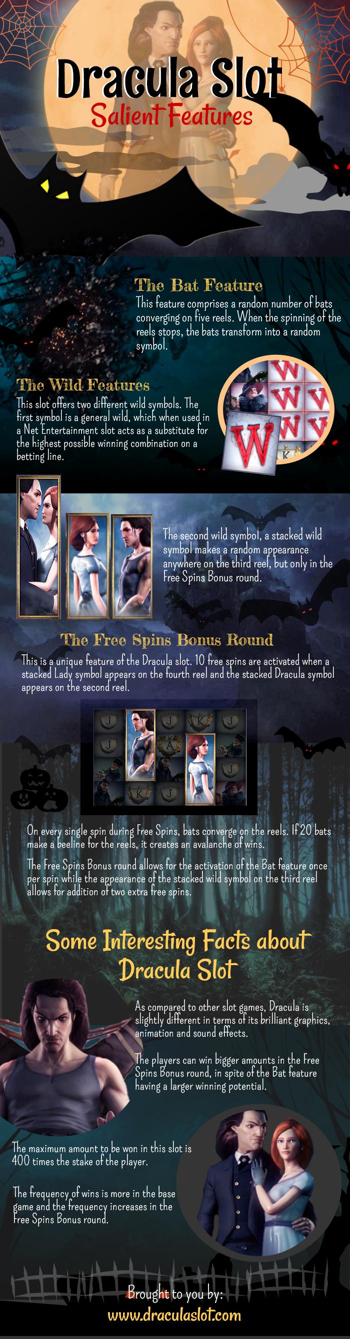 Dracula Slot Bonus Rounds
