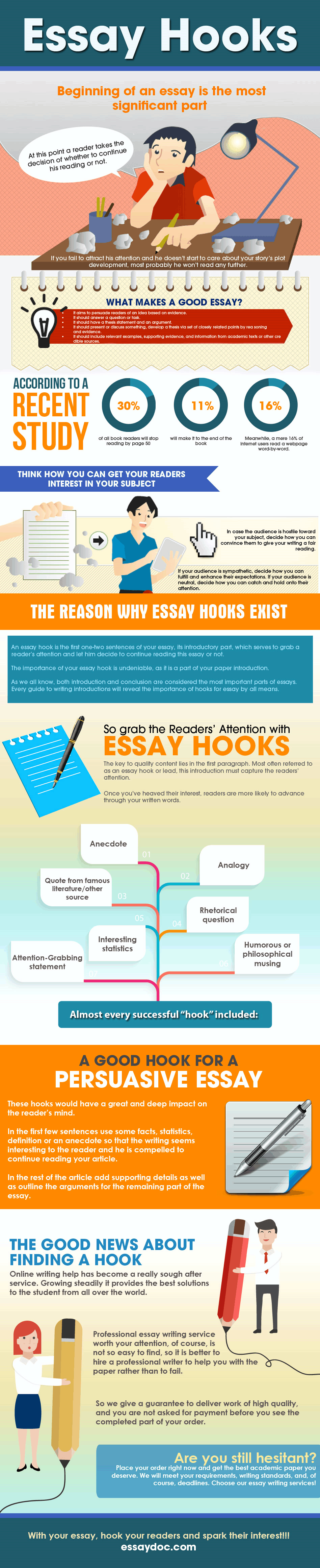 hook for an essay Browse and read hook in essay sample hook in essay sample when there are many people who don't need to expect something more than.