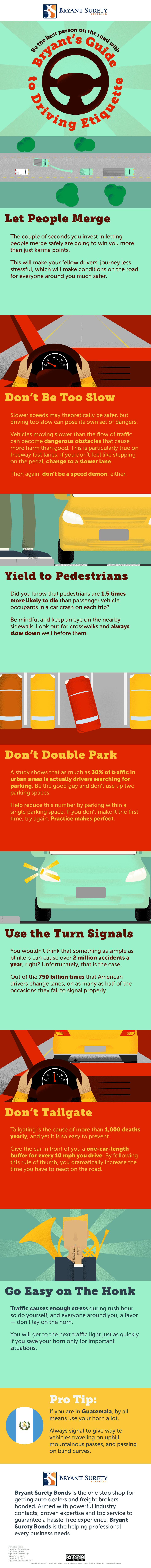 Guide to Driving Etiquette