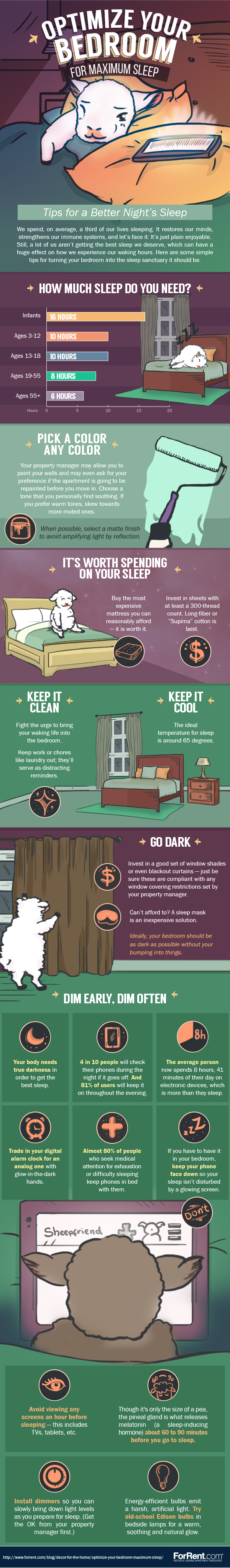 How To Optimize Your Bedroom for Maximum Sleep
