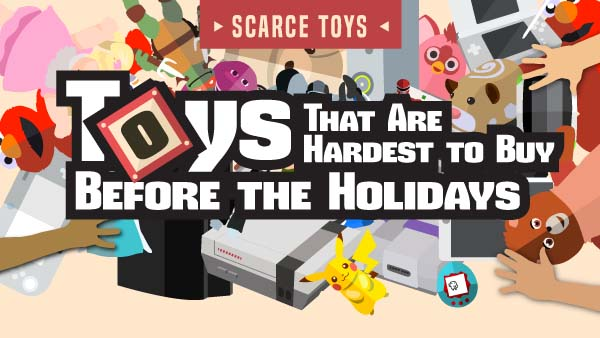 Hardest Toys to Find Before Black Friday & Christmas