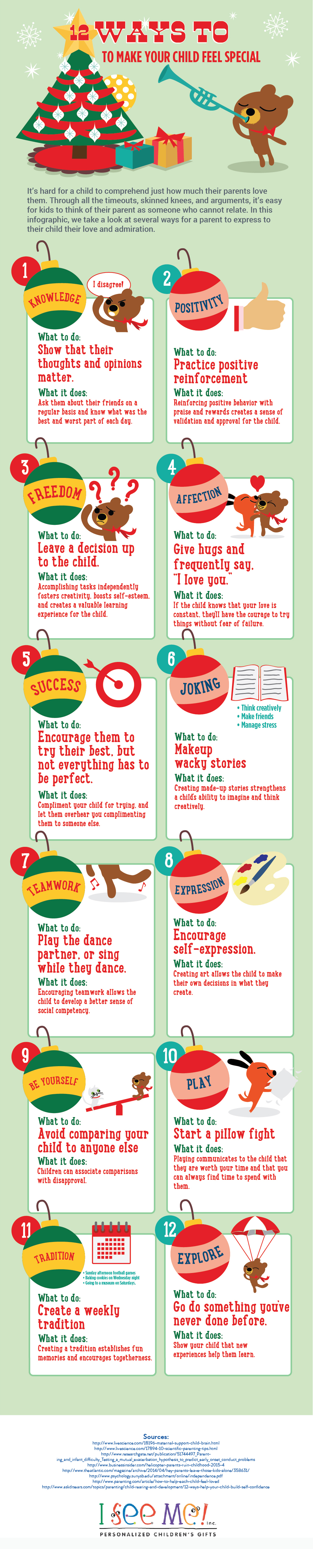12 Ways to Make Your Child Feel Special