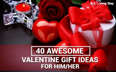 40 Awesome Valentine Day Gift Ideas For Him/Her