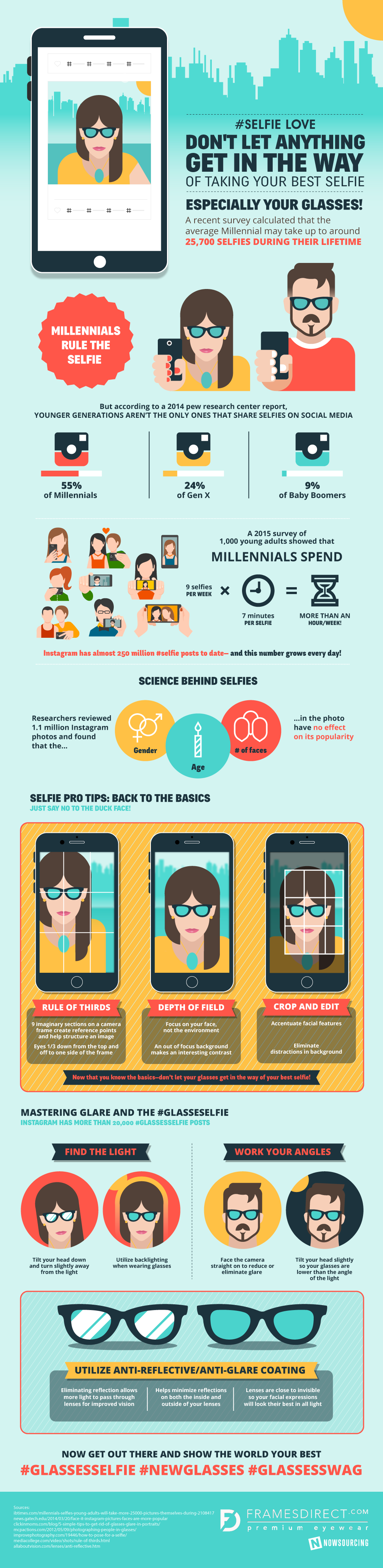 Don't Let Anything Get In The Way Of Taking Your Best Selfie