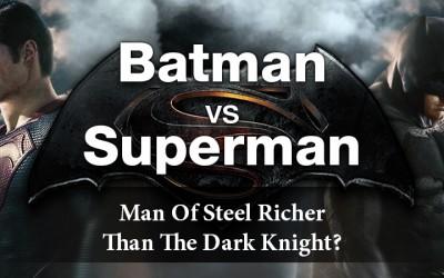 Who's Richer: Batman vs Superman