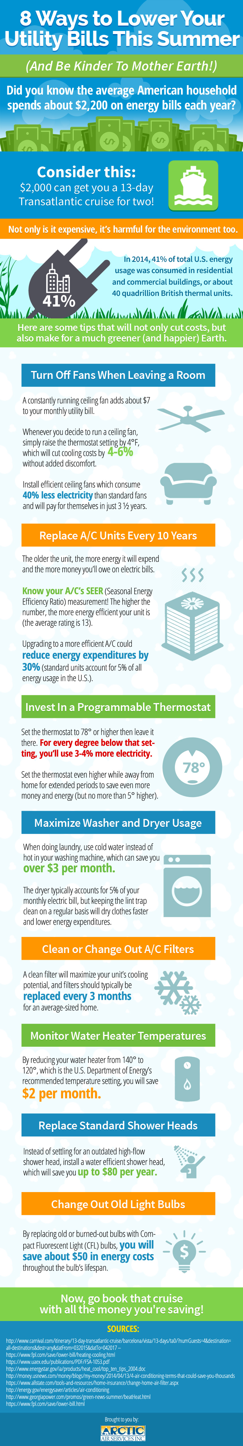 8 Ways To Lower Your Utility Bill This Summer