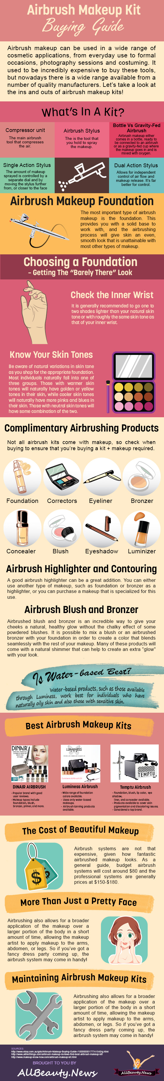How To Find The Best Airbrush Makeup Kit
