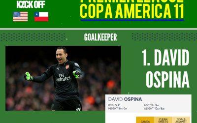 Premier League Copa América Centenario All Star XI