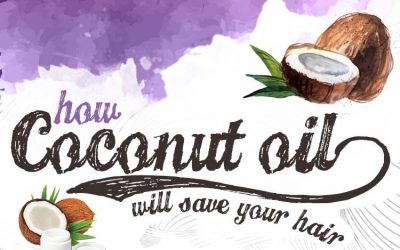 How Coconut Oil Will Save Your Hair