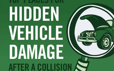 Top Places for Hidden Vehicle Damage After a Collision
