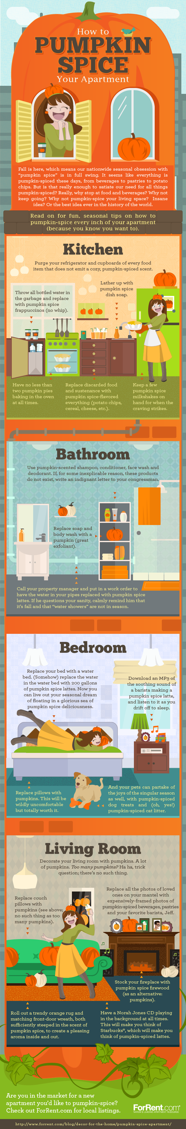 How to Pumpkin Spice Your Apartment