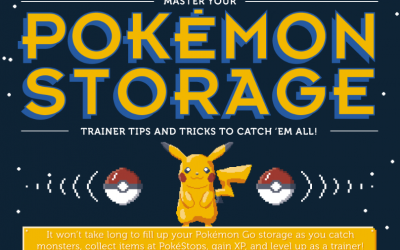 Pokemon Storage: Tips And Tricks To Catch Em All