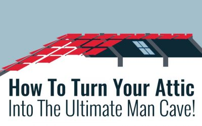 How To Turn Your Attic Into The Ultimate Man Cave