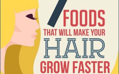 7 Foods That Will Make Your Hair Grow Faster
