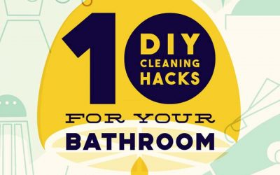 10 DIY Cleaning Hacks For Your Bathroom