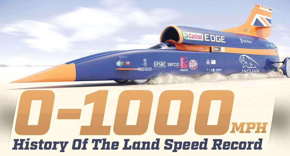 land speed record In a new video, andy green describes setting the world land speed record in the thrust ssc in 1997 next week, he'll pilot the bloodhound vehicle that eventually hopes to break it.