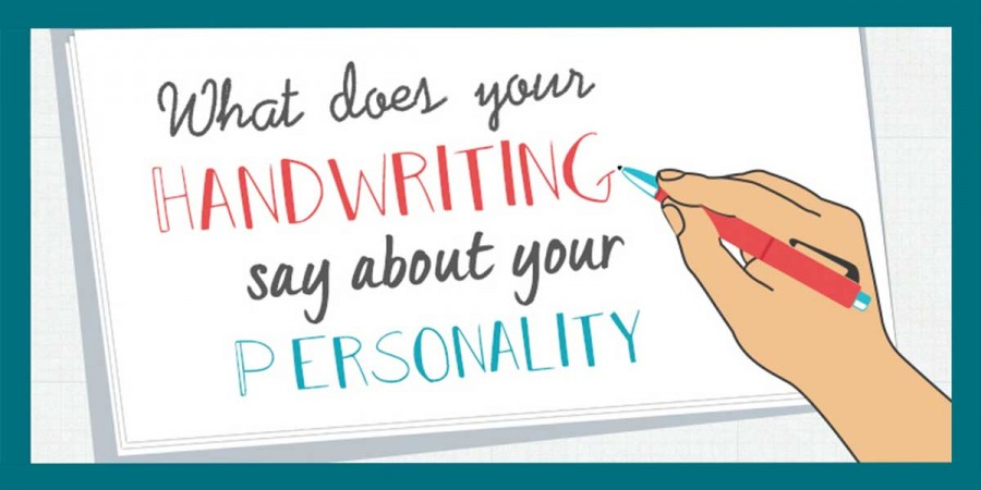 what does your handwriting say about your personality infographic